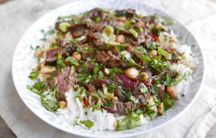 Sauté de boeuf coréen & riz basmati