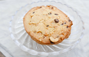 Cookie éclats de cacahuète & pépites choco