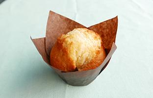 Muffin au caramel